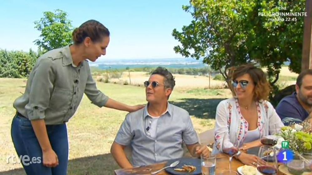 Foto: Eva González y Alejandro Sanz en 'MasterChef Celebrity'