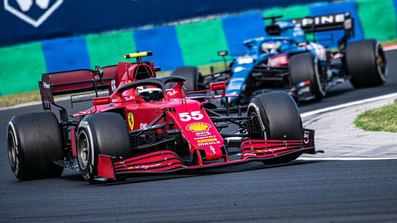 Carlos Sainz es 'Mr. Remontadas': no ha perdido una posición desde que llegó a la F1