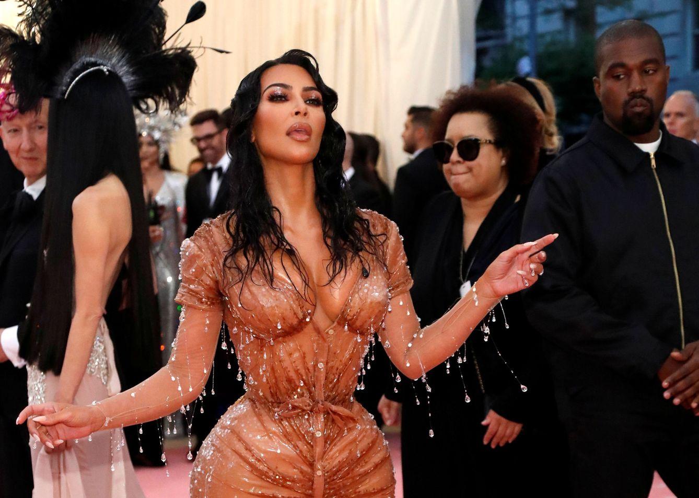 Kim Kardashian. (Reuters)