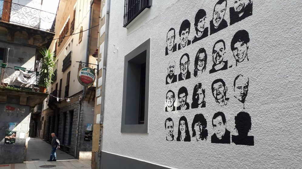 Foto: ETA permanecerá en las pintadas de los bastiones 'abertzales'