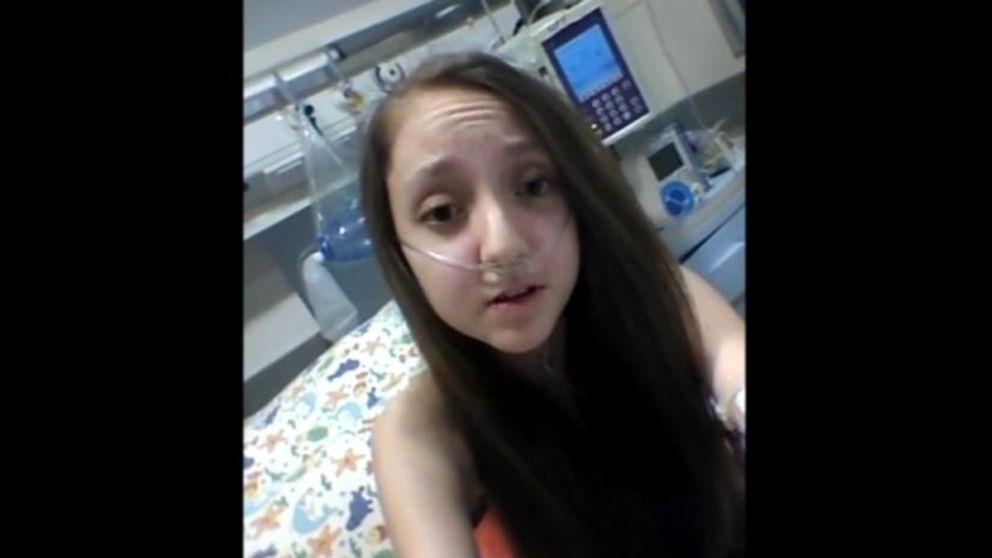 Una adolescente con fibrosis quística le pide a Bachelet que le deje dormir para siempre