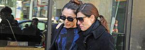 Raquel Sánchez Silva se despide de su marido, Mario Biondo, en Sicilia