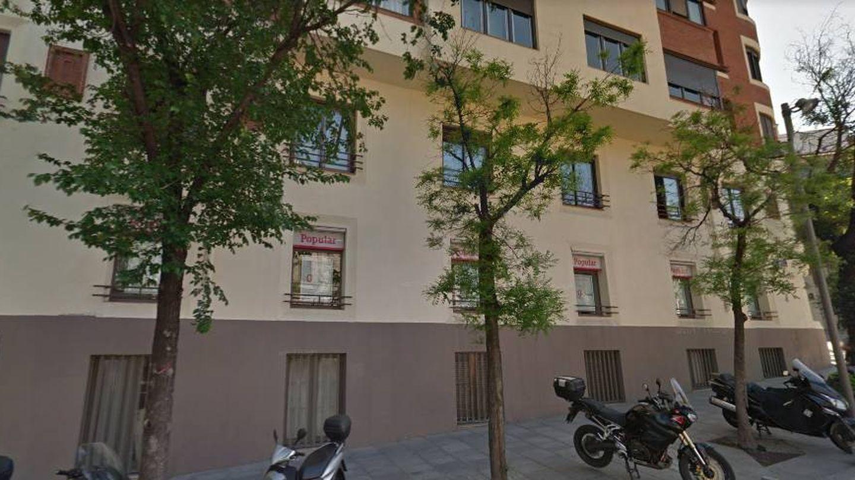 Edificio propiedad de la familia Franco.