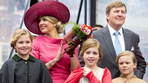 La reina Máxima y sus tres princesitas, protagonistas del Día del Rey