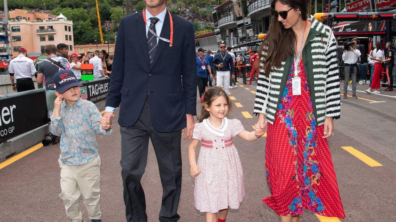 Pierre y Tatiana, con sus hijos. (Cordon Press)