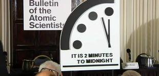 Post de Cien segundos para morir: el Reloj del Apocalipsis marca su peor dato histórico