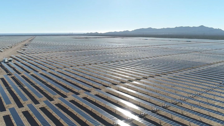 Foto de archivo de una planta fotovoltaica. (Reuters)