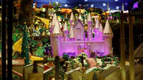 Un belén de fantasía y de 1.500 kilos de chocolate para endulzar la navidad