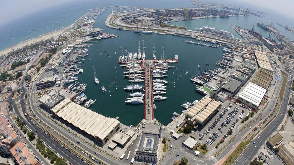 Foto: Marina Real Juan Carlos I en Valencia. (Web oficial)
