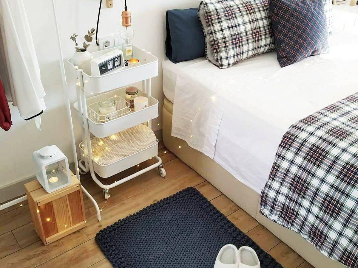 Foto: Las alfombras de Ikea son el complemento perfecto para tu dormitorio. (Instagram, @ikeaspain)