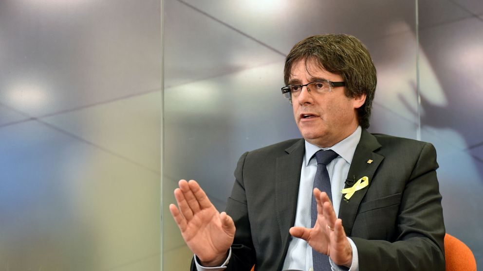 La Generalitat ocultó el encuentro de Puigdemont con el magnate ruso Aminov