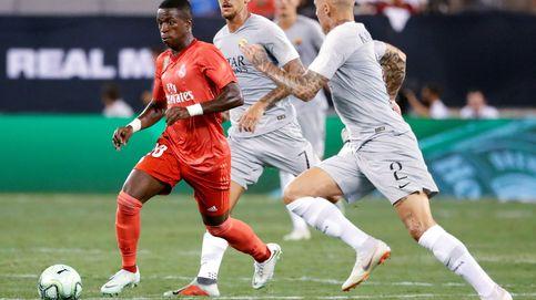 El deslucido debut de Vinicius en el Castilla: poca samba y más trabajar