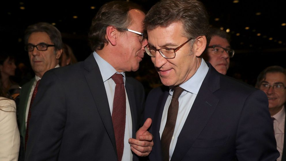 Núñez Feijóo apoya a Alonso y reivindica las siglas del PP vasco