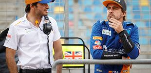 Post de Zak Brown habla sobre Fernando Alonso y Carlos Sainz: