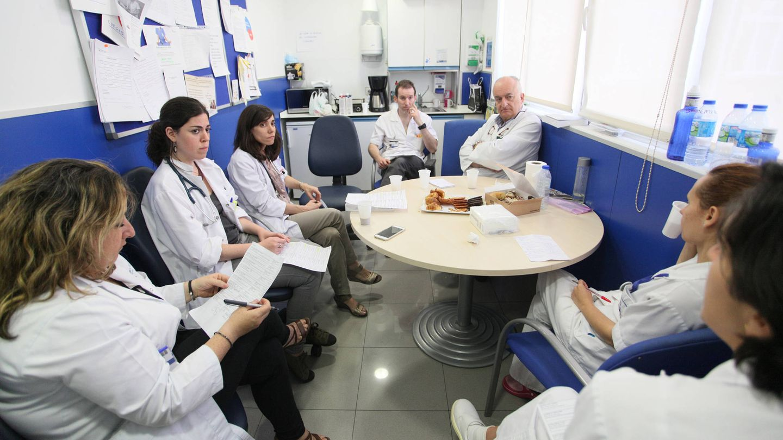 Esther Martín, Thamar Capel, M.ª Victoria Galindo, Eduardo García y Álvaro Gándara. (E. Villarino)