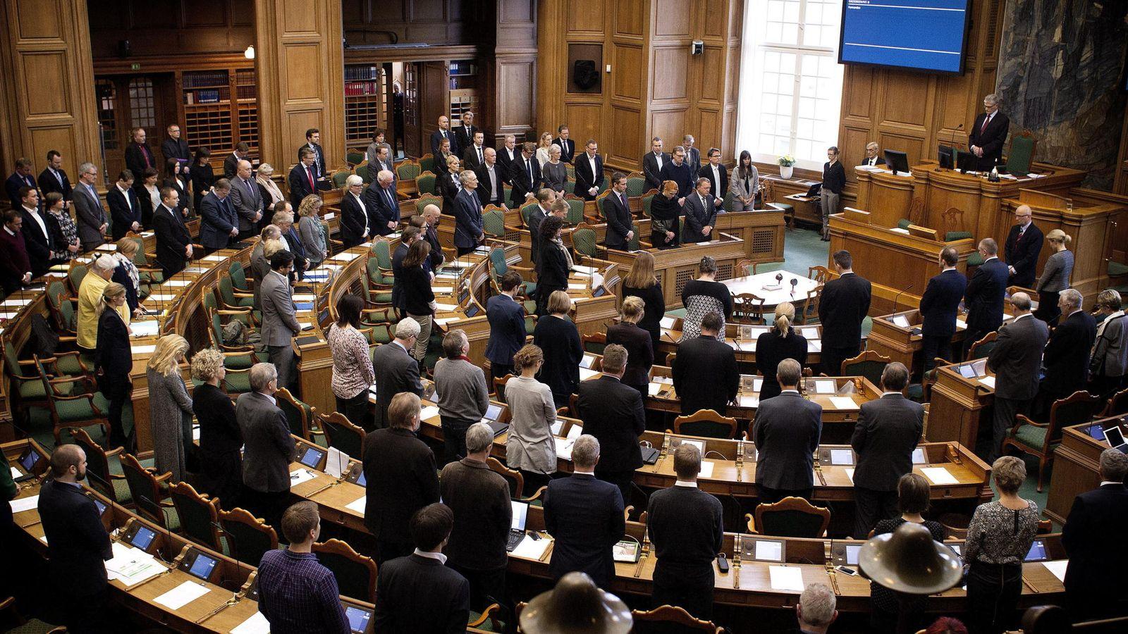 Foto: El Parlamento de Dinamarca (Reuters)