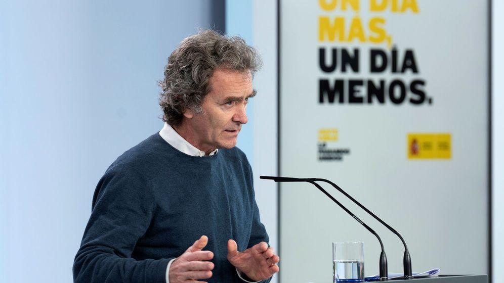 Foto:  El director del Centro de Coordinación de Alertas y Emergencias Sanitarias, Fernando Simón. (EFE)
