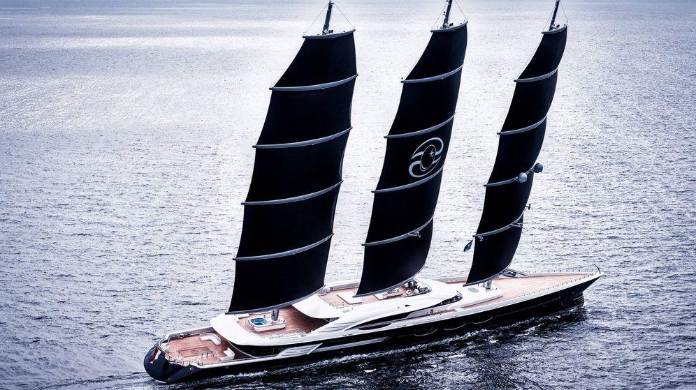 Foto: El Black Pearl, el velero privado más grande del mundo. (Oceanco)