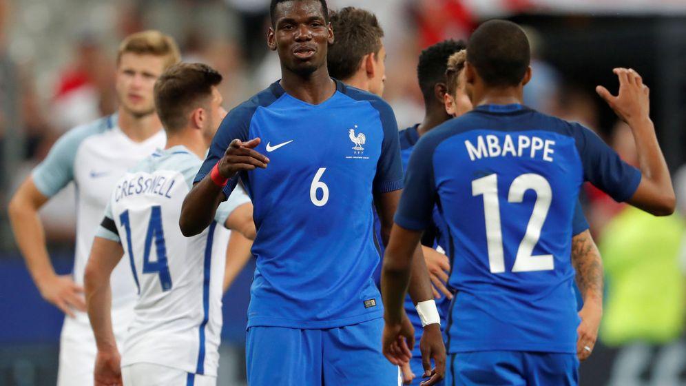 Foto: Pogba y Mbappé eran los doa grandes deseos de Zidane en los dos últimos veranos. (Reuters)
