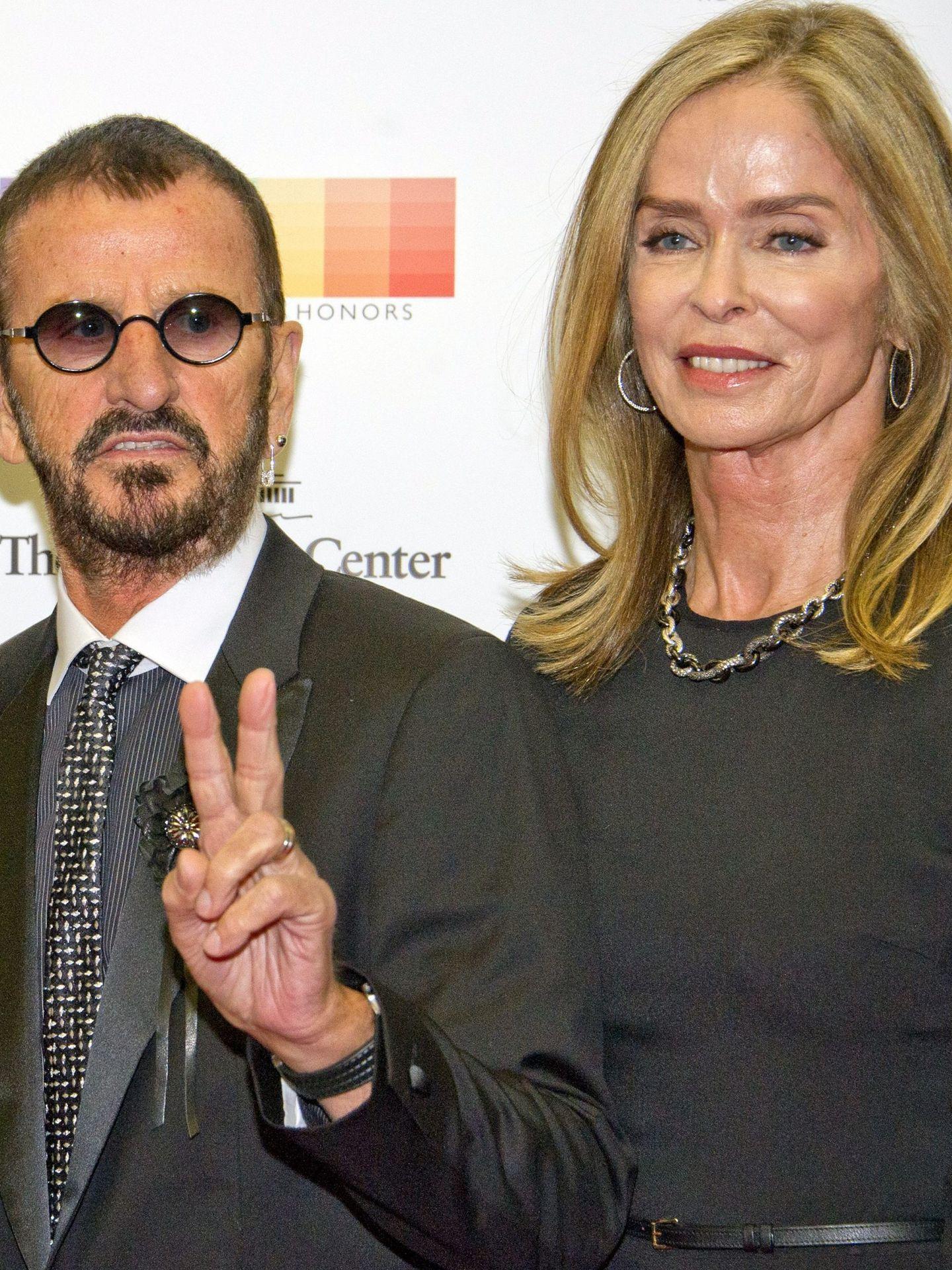 Ringo, con Barbara Bach. (EFE)