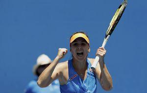 La sucesora de Hingis, ante el reto de ganar a la número cuatro Na Lin