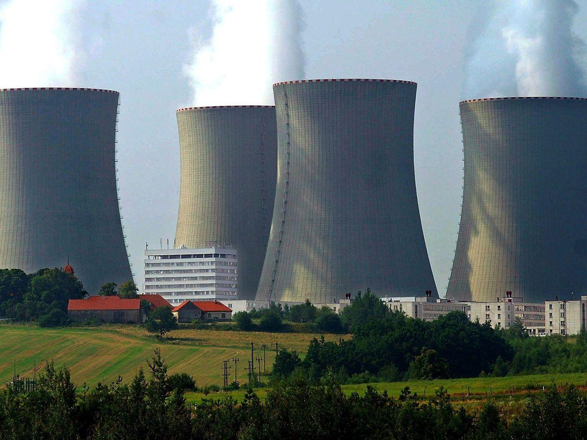 Foto: Una planta nuclear. (EFE)