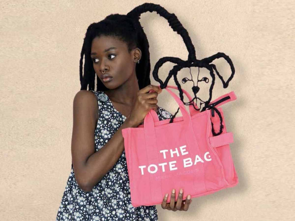 Foto: Laetitia Ky, en la nueva campaña de Marc Jacobs. (Cortesía)