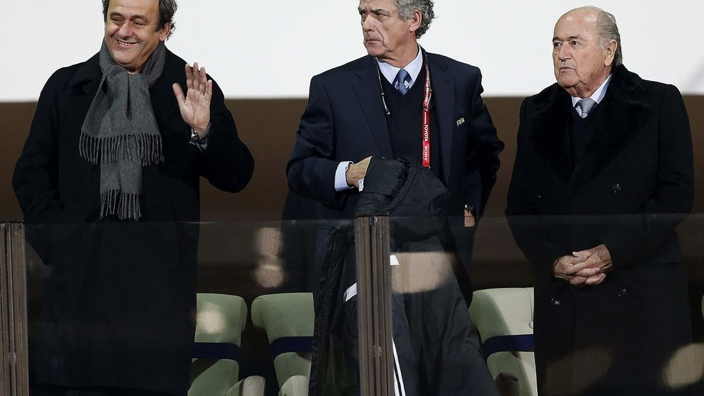Villar está liquidado: arrastrado por Blatter en FIFA y un traidor para UEFA