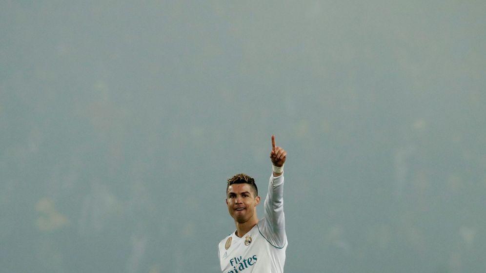 Foto: Cristiano Ronaldo celebrando su gol en el Parque de los Príncipes. (Reuters)