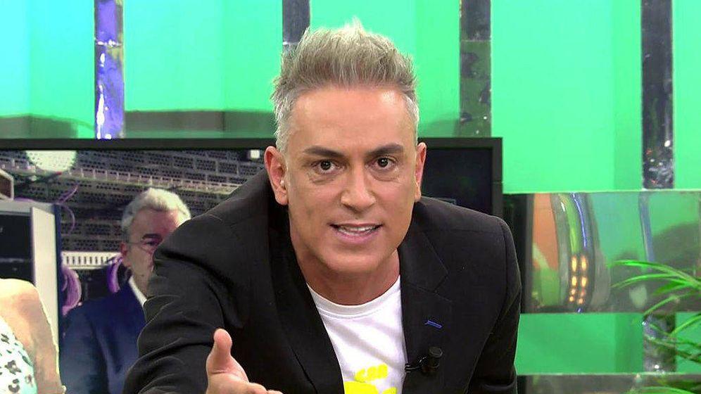 Foto: Kiko Hernández en 'Sálvame'. (Mediaset España)