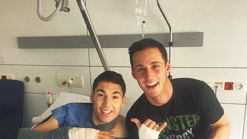 Aleix Espargaró se recupera de su accidente gracias a su chica