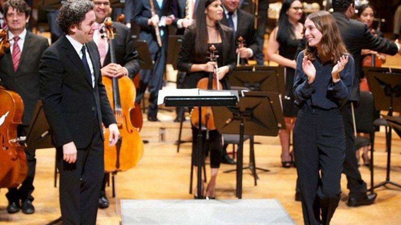 Foto: Maria Valverde junto a su pareja, Gustavo Dudamel (Gtres)