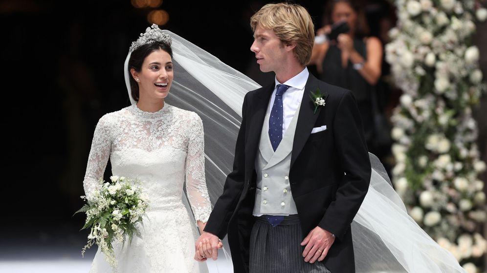 Foto: La boda de Christian de Hannover y Sassa de Osma. (EFE)