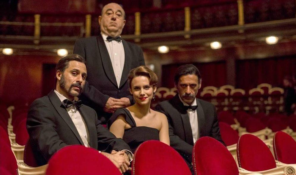 Foto: Hitchcock protagoniza la vuelta de 'El Ministerio del Tiempo'. (RTVE)