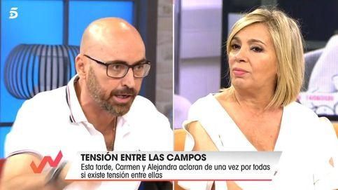 Diego Arrabal abandona el plató de 'Viva la vida' tras una gran bronca con Borrego