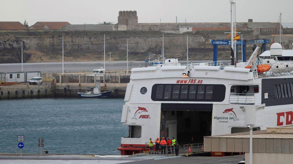Foto: Puerto de Tarifa, Cádiz. (EFE)