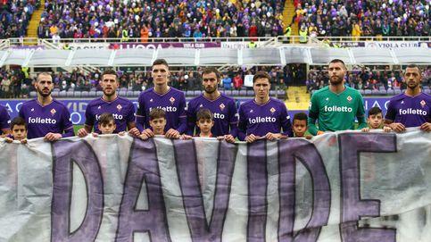 El homenaje de la Fiorentina y su afición a David Astori