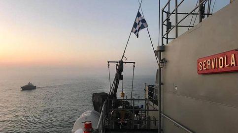 Un patrullero español libera de piratas a un buque nigeriano en el Golfo de Guinea