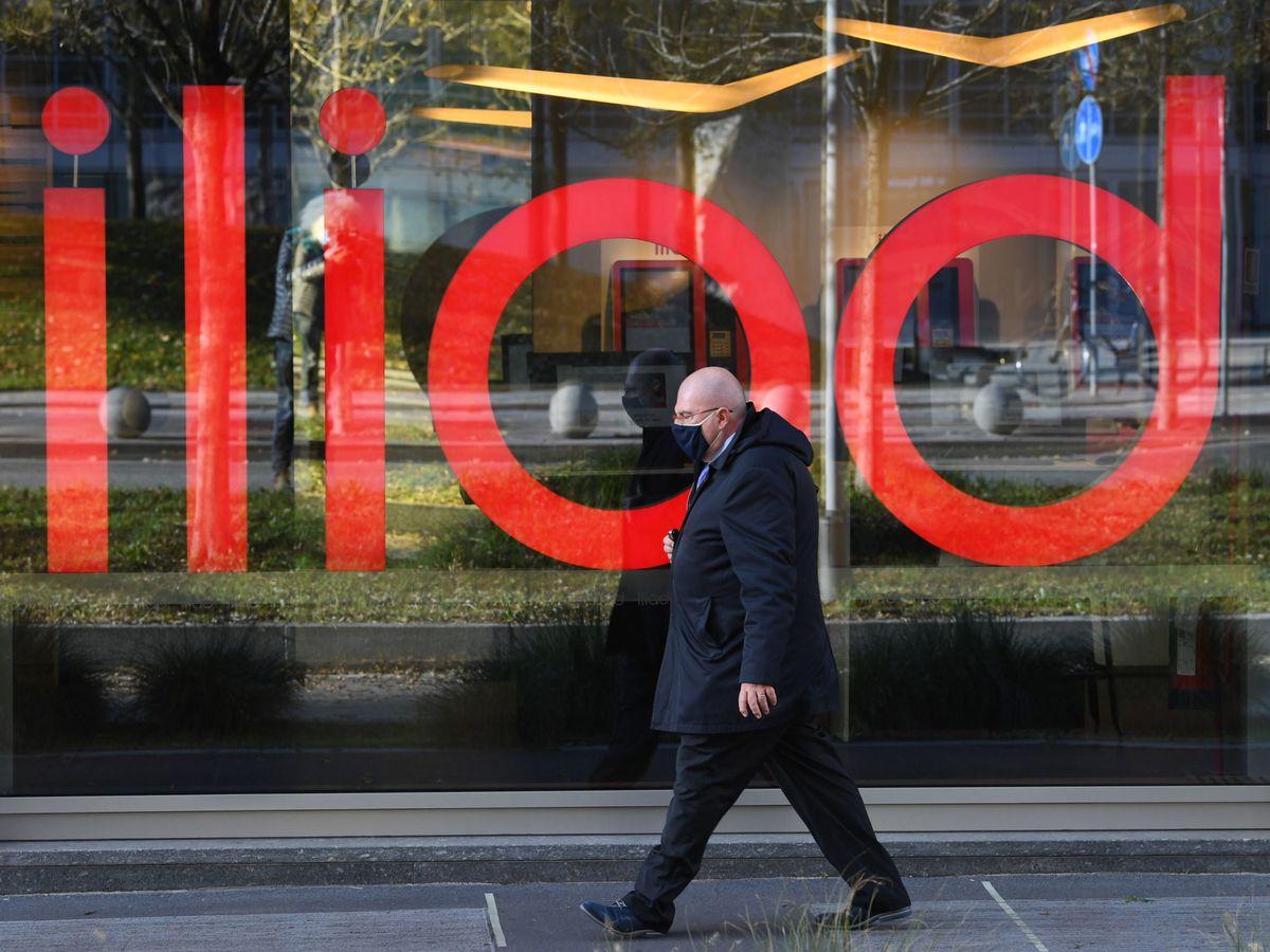 Foto: El logo de Iliad. (Reuters)