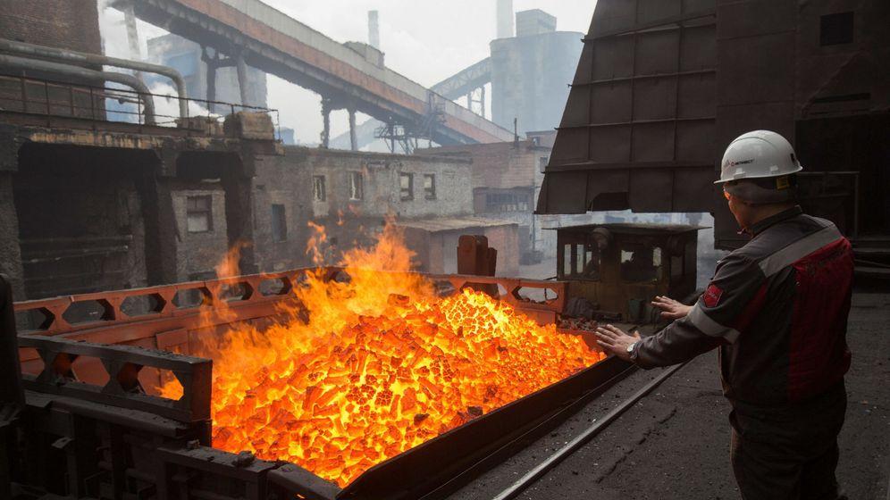 Foto: Una planta de energÍa en Ucrania. Foto: EFE VOLODYMYR PETROV