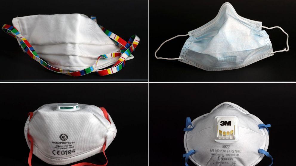 ¿Qué tipos de mascarillas hay y cuál debes usar para protegerte del coronavirus?