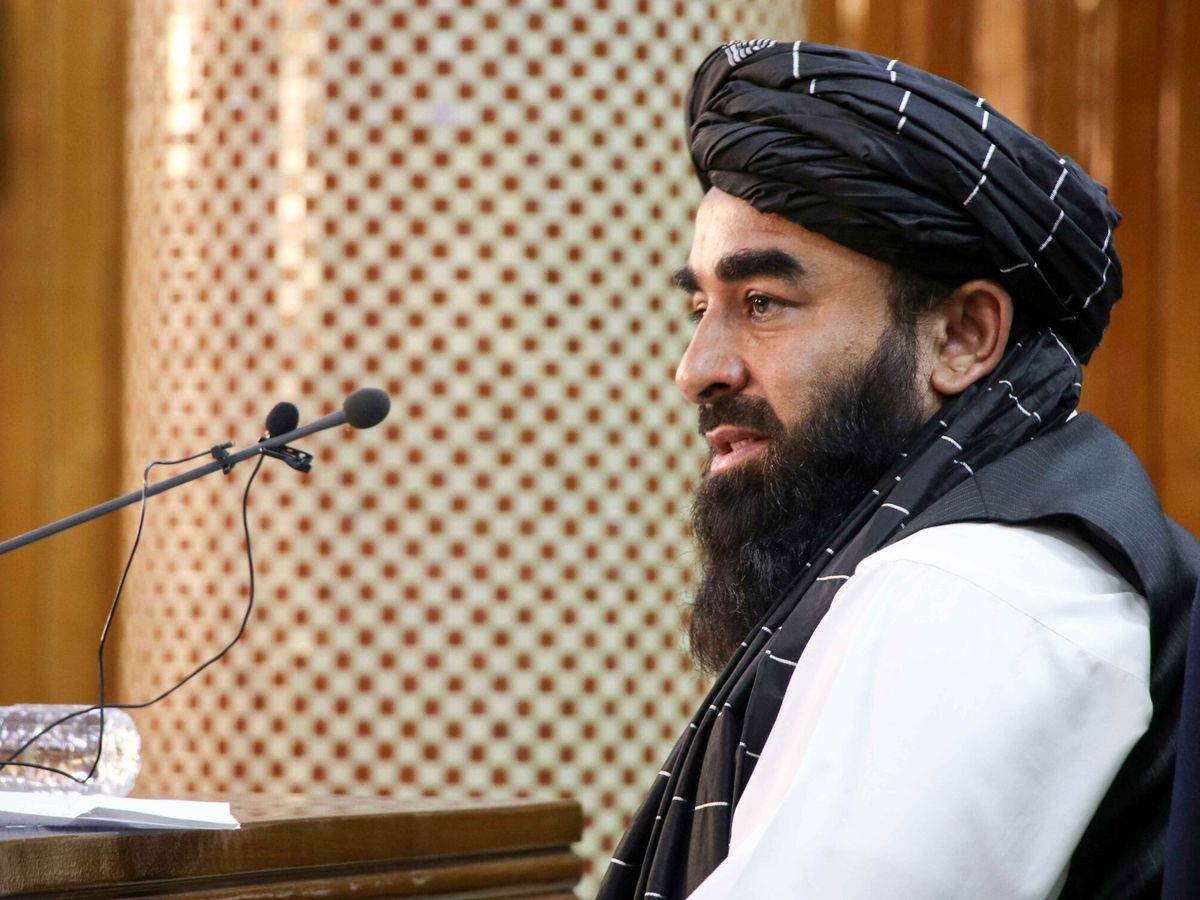 Foto: El principal portavoz de los talibanes, Zabihullah Mujahid. (EFE)