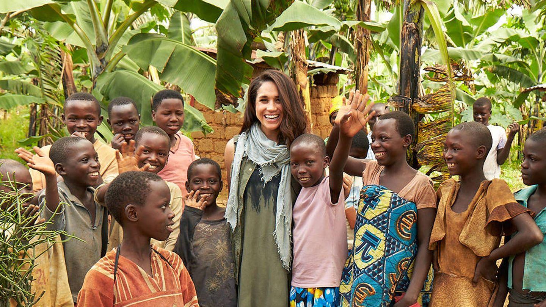 Meghan Markle en Ruanda. (www.royal.uk)