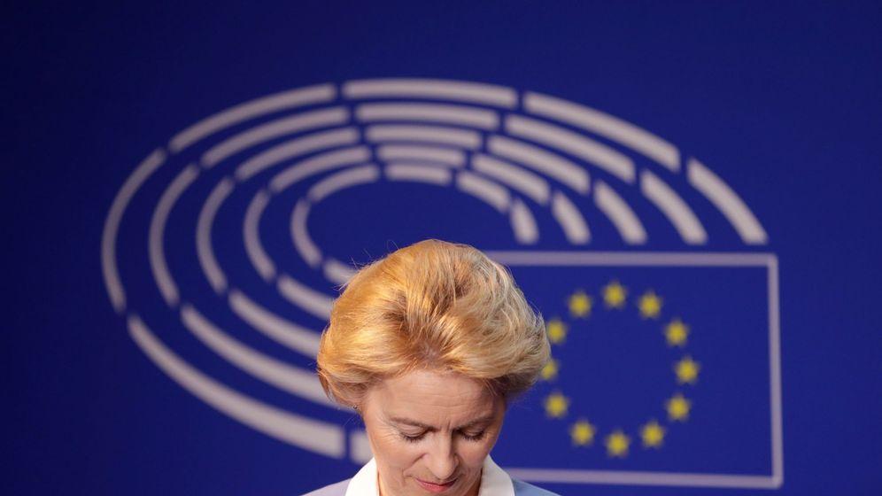 Foto: Ursula von der Leyen, cabeza de la Comisión Europea. (EFE)