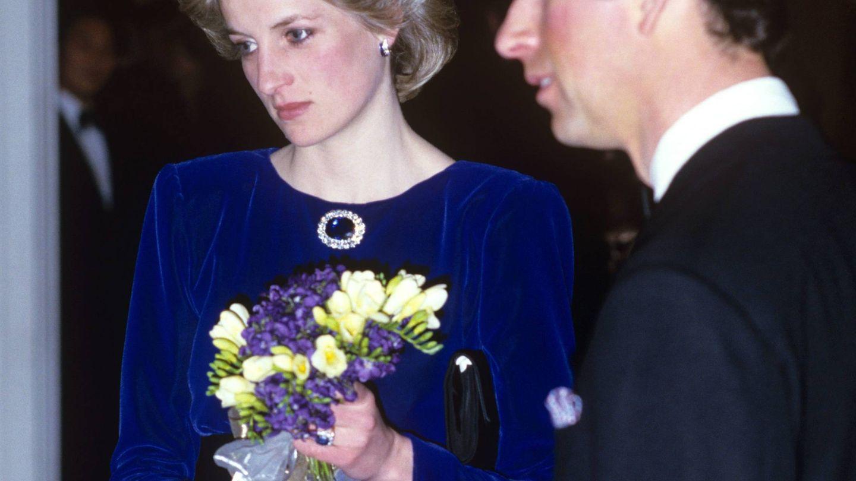 Diana y Carlos, en una imagen de la época. (Cordon Press)