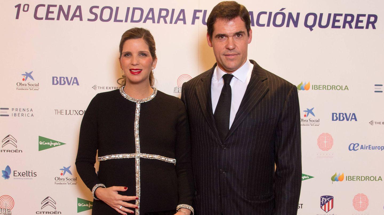 Luis Alfonso y Margarita Vargas, invitados. (Fundación Querer)