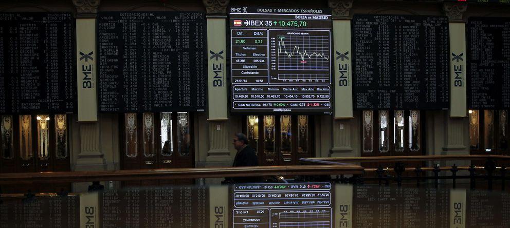 Foto: El Ibex 35 se toma un respiro para cargar pilas de cara a la reunión del BCE