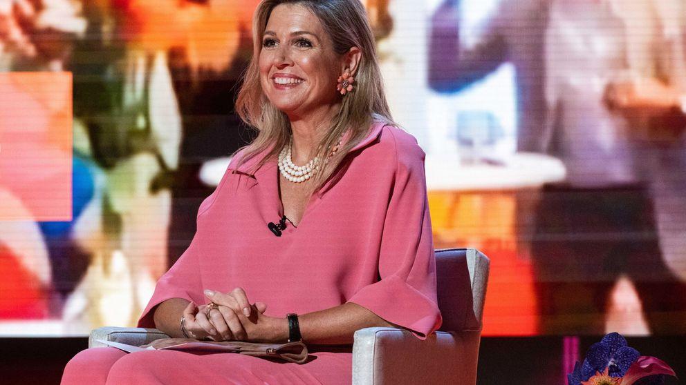 Máxima de Holanda apuesta todo al rosa y firma su mejor look del verano
