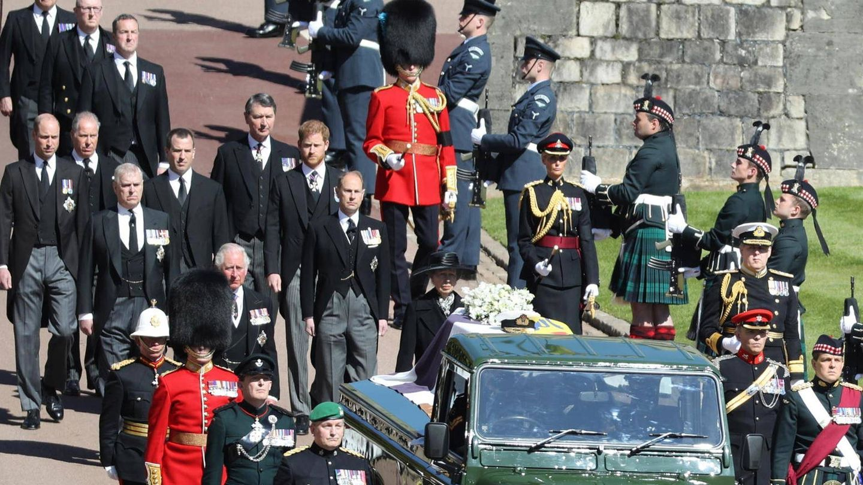 Funeral del duque de Edimburgo. (Cordon Press)