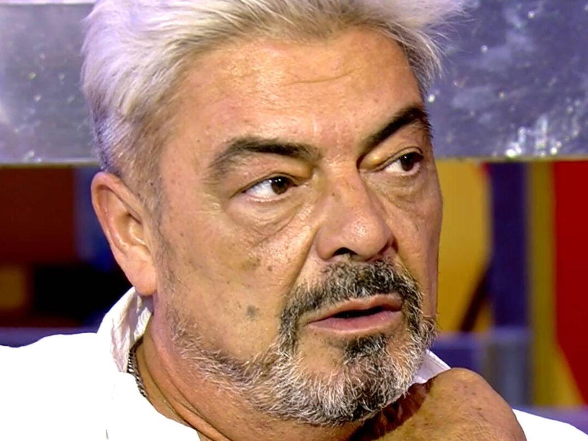 Foto: Antonio Canales no seguirá en 'Sálvame'. (Mediaset)